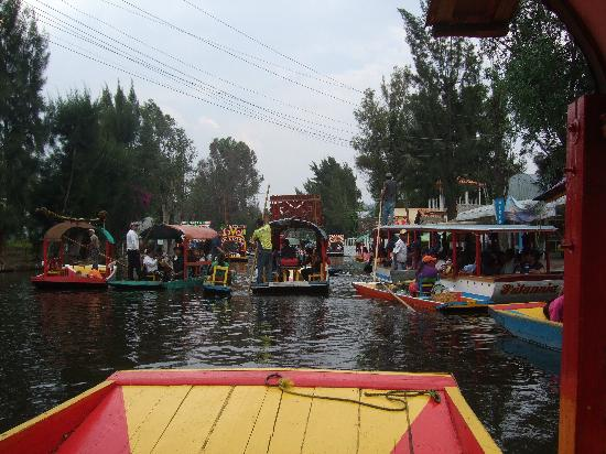 Xochimilco : A view of the canals