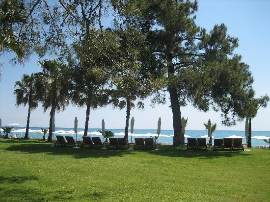 Club Med Palmiye: jardin détente