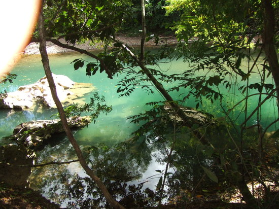 San Pedro, Belice: Cave Tubing - the River
