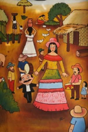 Masatepe, Никарагуа: La Gigantona-Nicaraguan Folklore