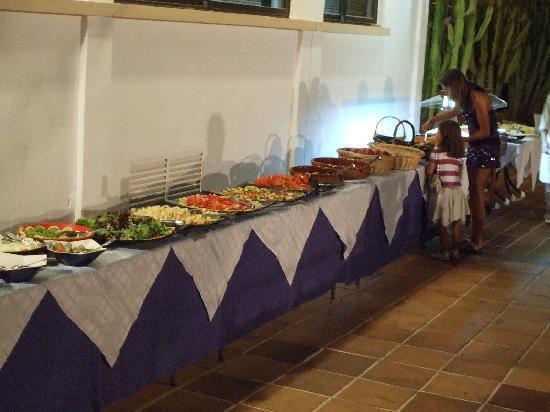 Hotel & Spa S'Entrador Playa: buffet
