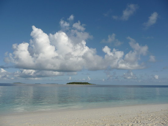 Baa Atoll: Perfect beach