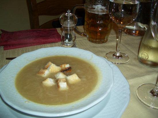 Ristorante Posta: オニオンスープ