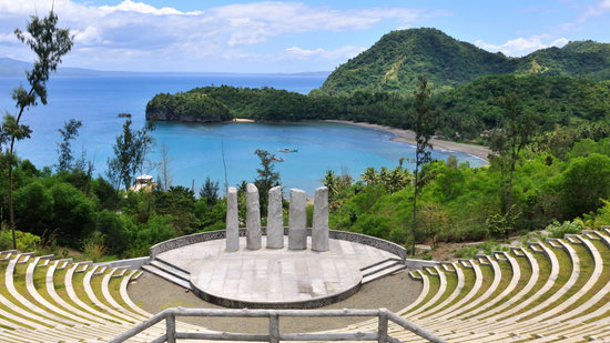 Cagraray Island, Philippines: View from the Eco Park