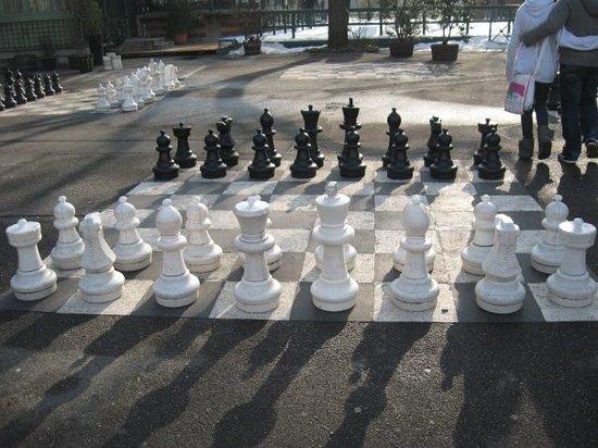 Ginebra, Suiza: Park in Geneva