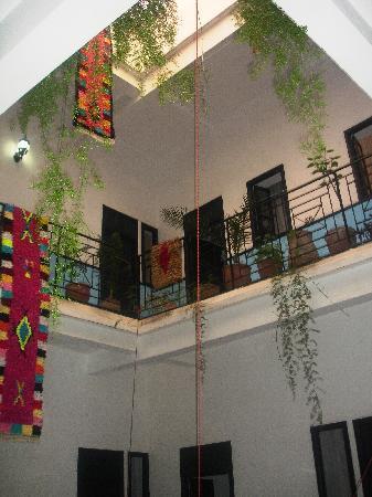 Riad Sidi Magdoul: Etages