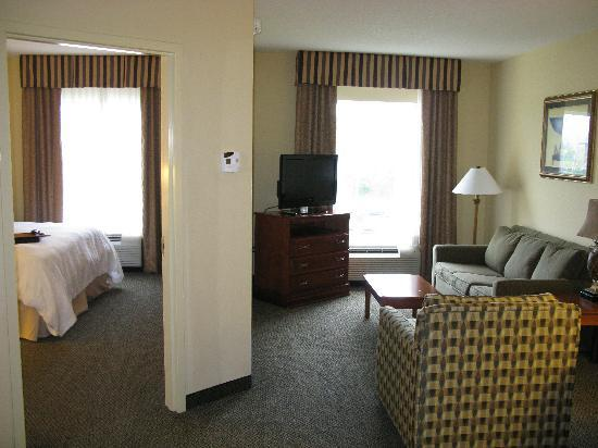 ‪‪Hampton Inn & Suites Birmingham-Hoover-Galleria‬: King suite one bedroom‬