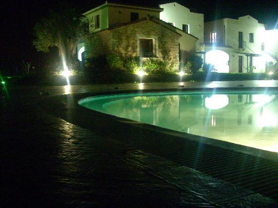 Lotzorai, Italië: villaggio di notte
