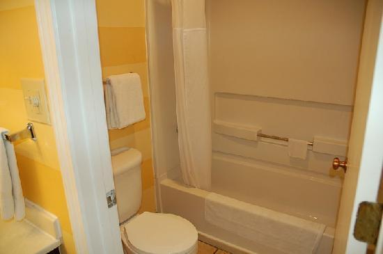 Hawthorn Suites by Wyndham Dayton North: Bathroom