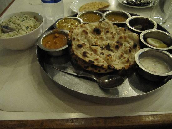 Ballal Residency: vegetable thali