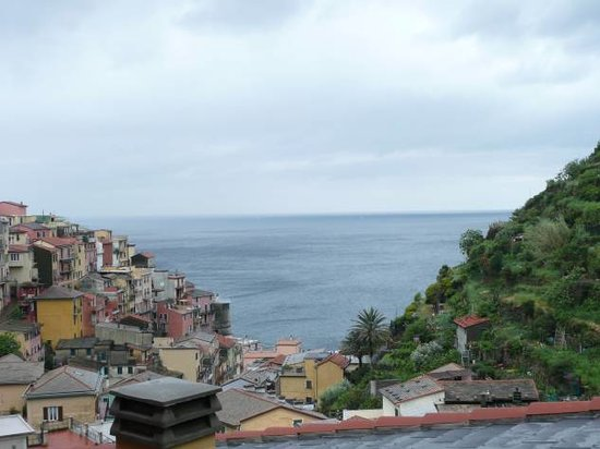 Manarola, Italy: View from Hotel