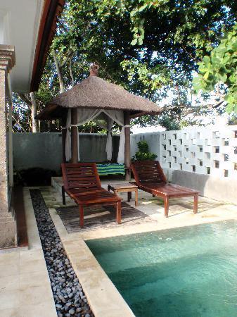 Puri Saron Seminyak: Own pool in Villa