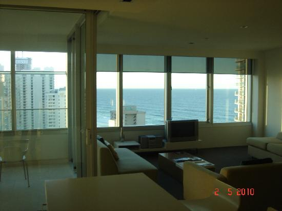 Ocean view from Living area.