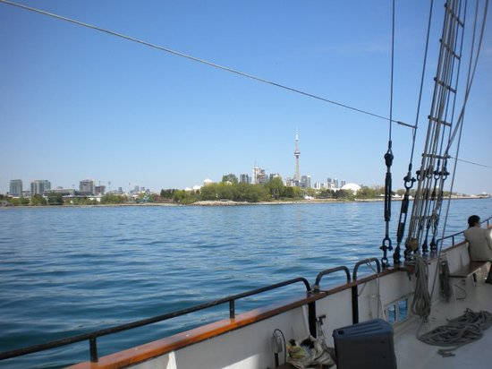 Tallship Cruises : View from the ship