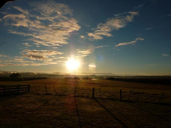 Brickendon Estate: SUNRISE