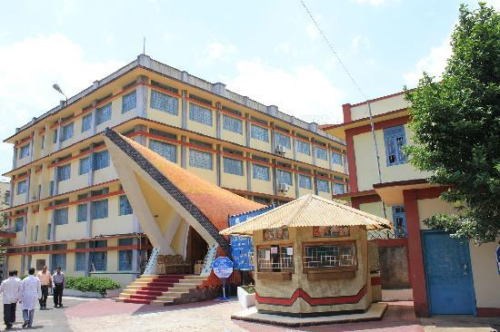 Hotel Polo Towers: Don Bosco Center for Indigenous Cultures (DBCIC) in Shillong town.