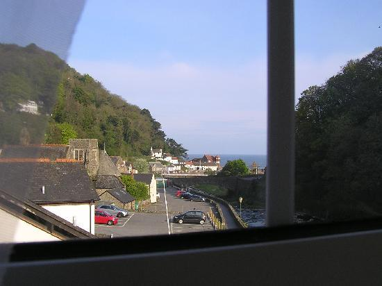 East Lyn House Hotel: sea view