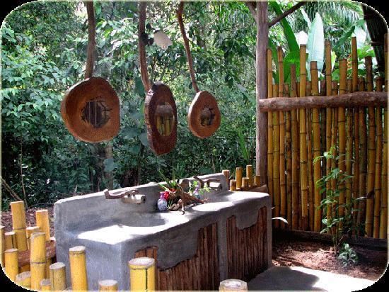 Danta Corcovado Lodge : Shared bathroom