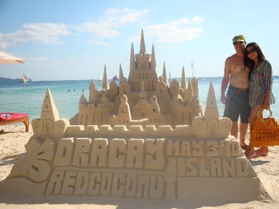 Boracay Beach Club: Sand Castle...