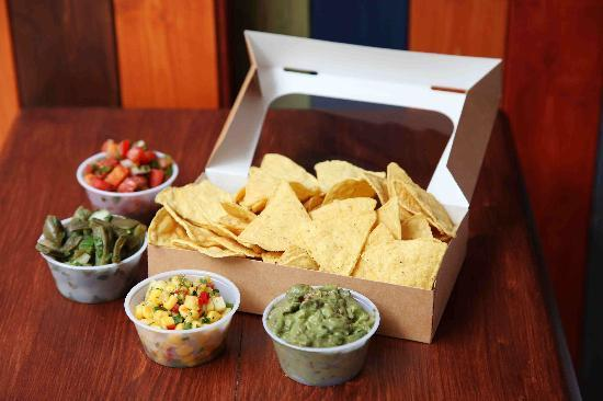 The Flying Burrito: totopos at flying burrito, london