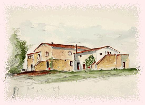Agriturismo Casale dell'Aldi: acquerello