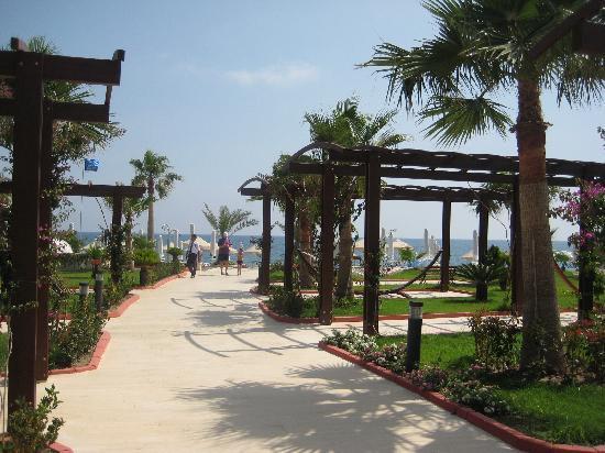 Saphir Resort & Spa: The path to the beach