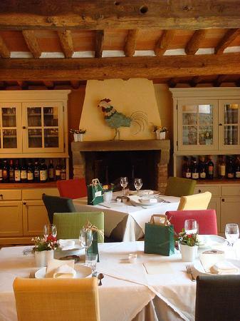 La Petraia : La sala ristorante