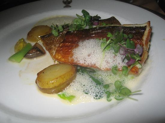 Hotel Kamp: White fish main course