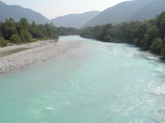 Słowenia: Soča river in Tolmin