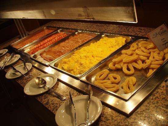 Blue Sea Los Fiscos: Buffet desayuno