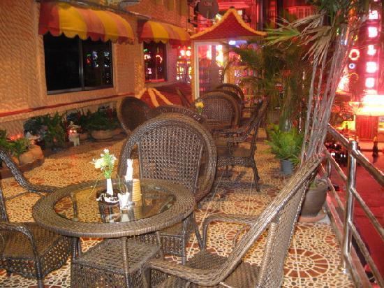 Penthouse Hotel: Coffee Terrace