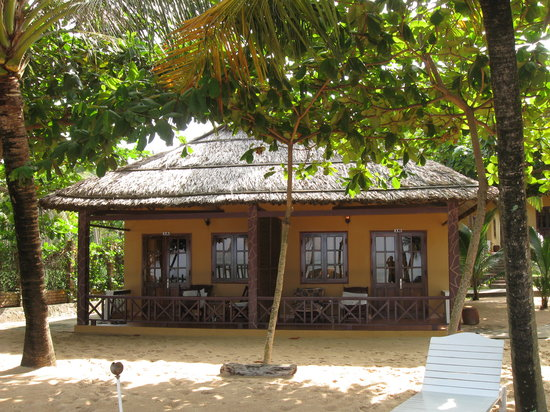Sea Star Resort Phu Quoc: Bungalow on the beach