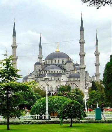 Istanbul, Turki: La Moschea Blu