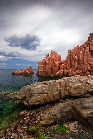 Tortoli, İtalya: Arbatax - rocce rosse