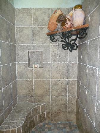 Adobe Grand Villas: AWESOME shower
