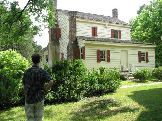 Walnut Grove Plantation : rear view of main house