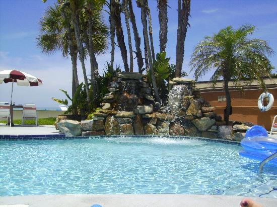 Long Key Beach Resort Motel Waterfall