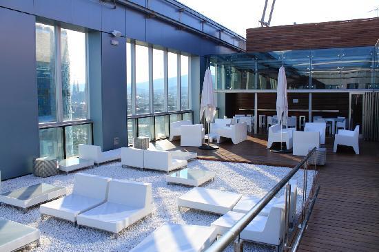 Novotel Barcelona City: Roof terrace