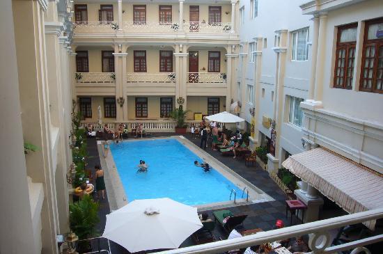 Pool View From Room Picture Of Grand Hotel Saigon Ho Chi Minh City Tripadvisor