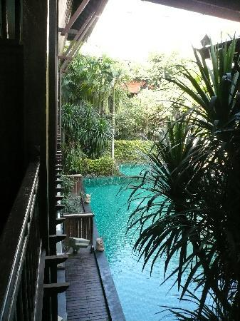 Yantarasiri Resort: ベランダからの眺め
