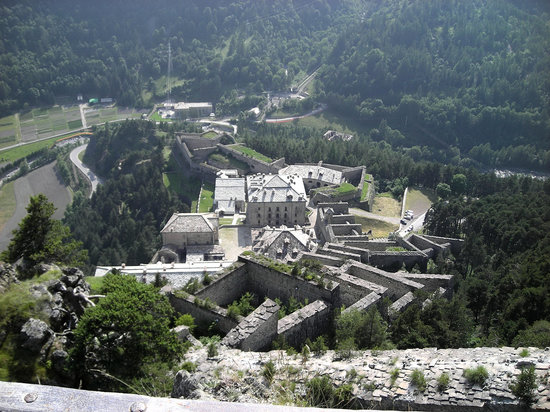 Fenestrelle, Italie : View of the fortress