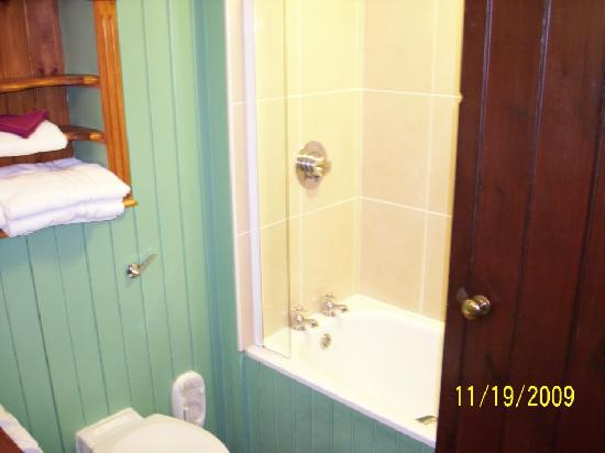 The Bushmills Inn Hotel: bathroom shower/tub