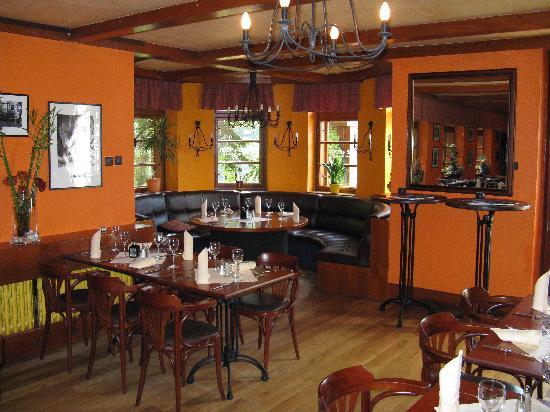 Hotel Bedriska Wellness Resort & Spa: Wie mann sieht ist das Restaurant sehr angenehm gestaltet. Es ha eine sehr warme Atmosphäre. Die
