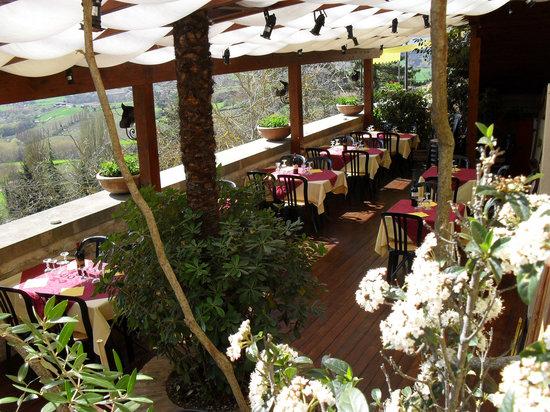 Taverna del Verziere: Il magnifico terrazzo panomamico