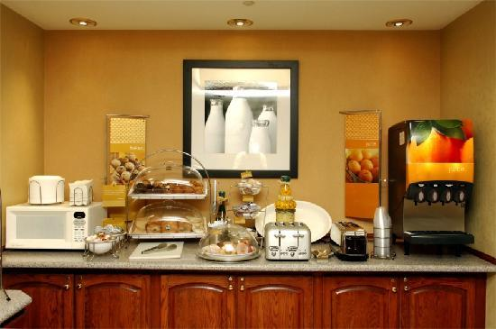 Hampton Inn Des Moines-West: Breakfast Area