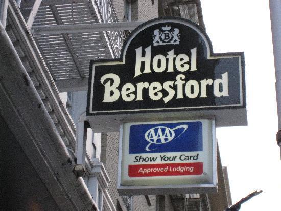 hotel logo picture of hotel beresford san francisco. Black Bedroom Furniture Sets. Home Design Ideas