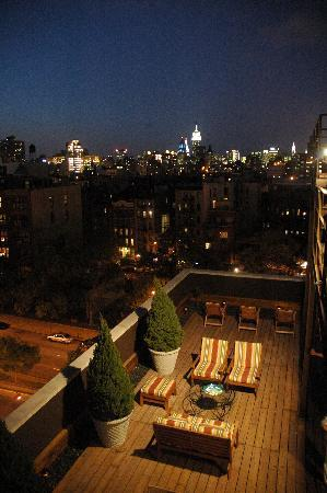 The Ridge Hotel: HEH Roof Terrace-Night