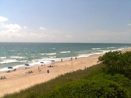Jensen Beach, FL: Beachfront balcony view