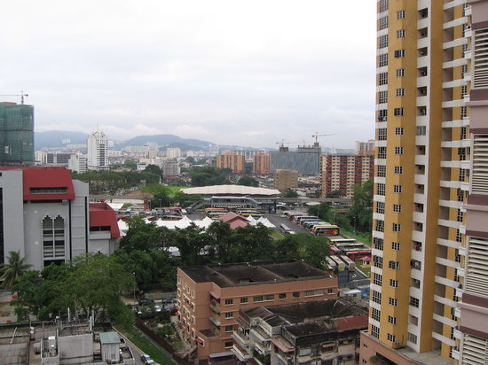 Sarang Mas Vacation Home: view of KL from condo bedroom window