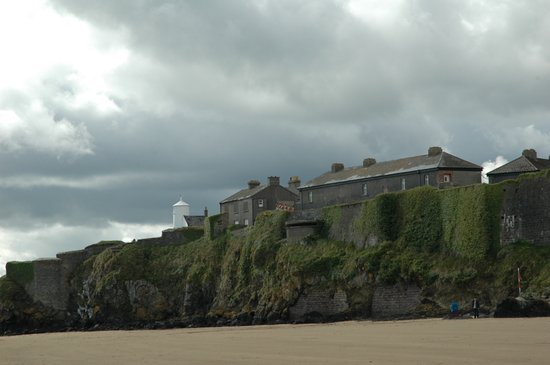 New Ross, Ireland: Duncannon Fort seen from the beach